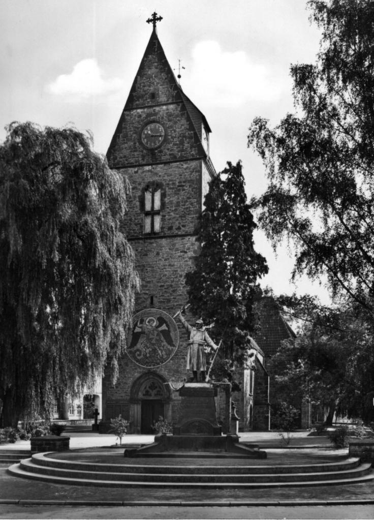 25F 1919-1 Kirche Steinhagen